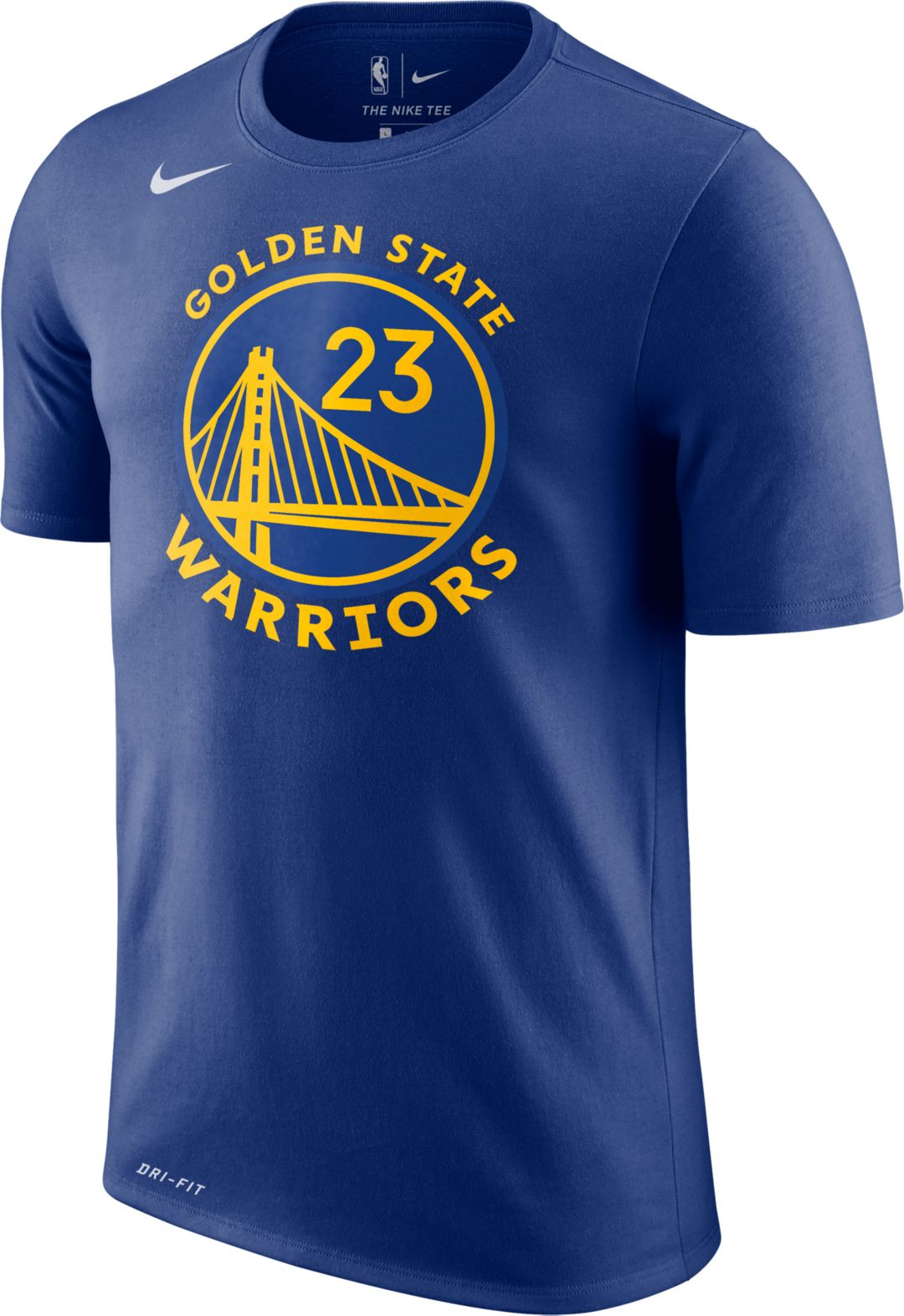 timeless design afef7 7724a Nike Youth Golden State Warriors Draymond Green #23 Dri-FIT Royal T-Shirt