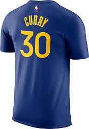 Nike Youth Golden State Warriors Steph Curry #30 Dri-FIT Royal T-Shirt product image