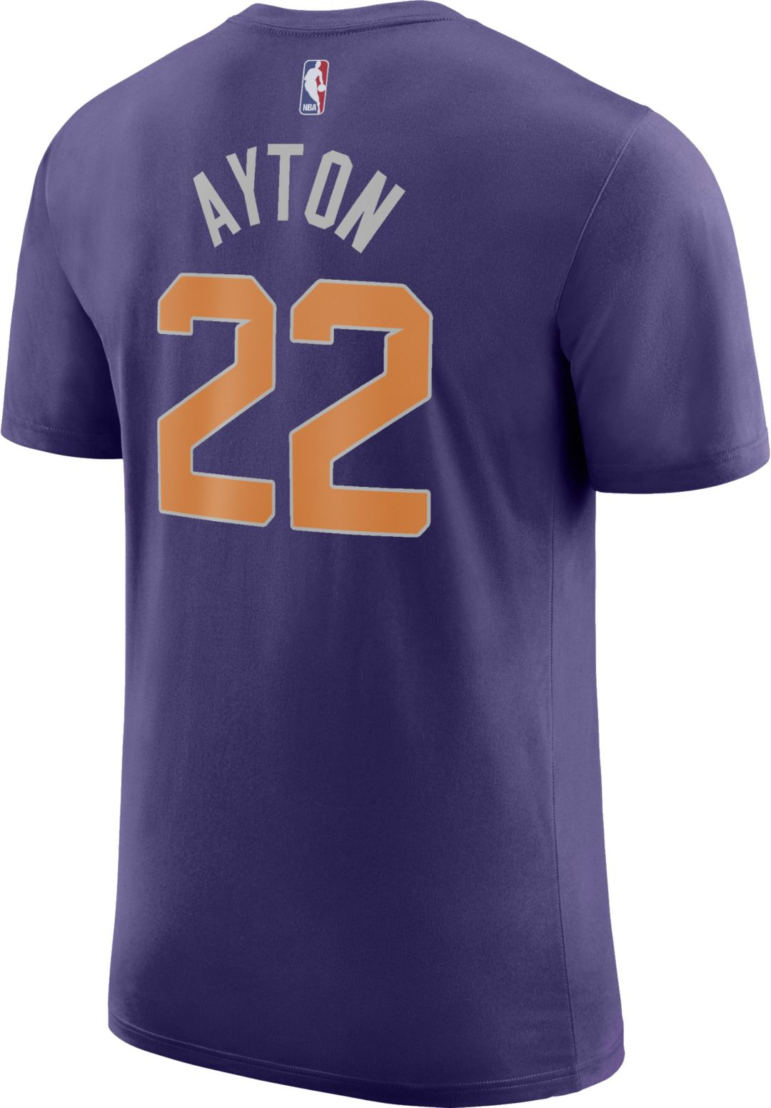 buy online 9c260 2f7b3 Nike Youth Phoenix Suns DeAndre Ayton #22 Dri-FIT Purple T-Shirt