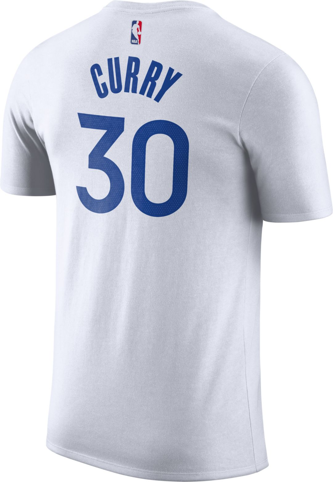 outlet store f300b 74eee Nike Youth Golden State Warriors Steph Curry #30 Dri-FIT White T-Shirt