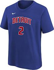 Nike Youth Detroit Pistons Cade Cunningham #2 Blue T-Shirt product image