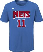 Nike Youth Brooklyn Nets Kyrie Irving #11 Blue Hardwood Classic T-Shirt product image