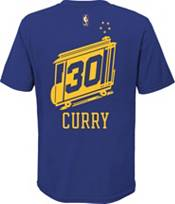Nike Youth Golden State Warriors Steph Curry #30 Blue Hardwood Classic T-Shirt product image
