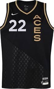 Nike Youth Las Vegas Aces A'ja Wilson Black Replica Rebel Jersey product image