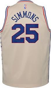 Nike Youth Philadelphia 76ers 2021 Earned Edition Ben Simmons  Dri-FIT Swingman Jersey product image