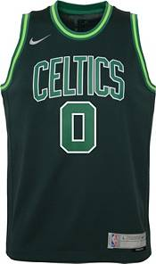 Nike Youth Boston Celtics 2021 Earned Edition Jayson Tatum Dri-FIT Swingman Jersey product image