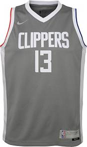 Nike Youth Los Angeles Clippers 2021 Earned Edition Paul George  Dri-FIT Swingman Jersey product image