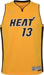 Nike Youth Miami Heat 2021 Earned Edition Bam Adebayo Dri-FIT Swingman Jersey product image