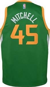 Nike Youth Utah Jazz 2021 Earned Edition Donovan Mitchell  Dri-FIT Swingman Jersey product image