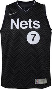 Nike Youth Brooklyn Nets 2021 Earned Edition Kevin Durant Dri-FIT Swingman Jersey product image