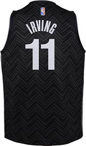 Nike Youth Brooklyn Nets 2021 Earned Edition Kyrie Irving Dri-FIT Swingman Jersey product image