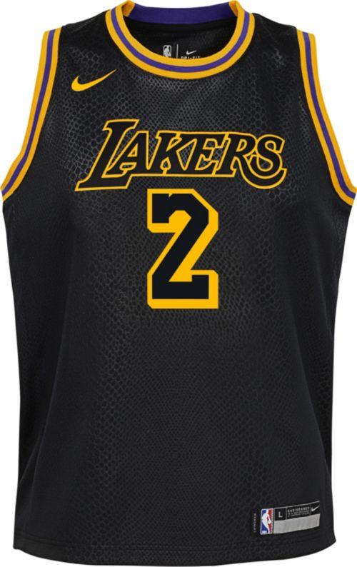 b57f282ecb4 Nike Youth Los Angeles Lakers Lonzo Ball Dri-FIT City Edition Swingman  Jersey