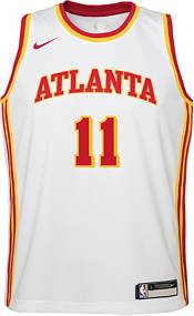 Nike Youth Atlanta Hawks Trae Young #11 Dri-FIT Swingman White Jersey product image