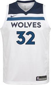 Nike Youth Minnesota Timberwolves Karl-Anthony Towns #32 White Dri-FIT Swingman Jersey product image