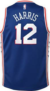 Nike Youth Philadelphia 76ers Tobias Harris #12 Blue Dri-FIT Icon Swingman Jersey product image
