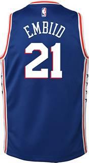Nike Youth Philadelphia 76ers Joel Embiid #21 Royal Dri-FIT Swingman Jersey product image