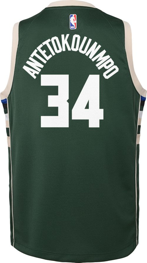 Nike Youth Milwaukee Bucks Giannis Antetokounmpo  34 Green Dri-FIT Swingman  Jersey. noImageFound. Previous. 1. 2. 3 de729165b