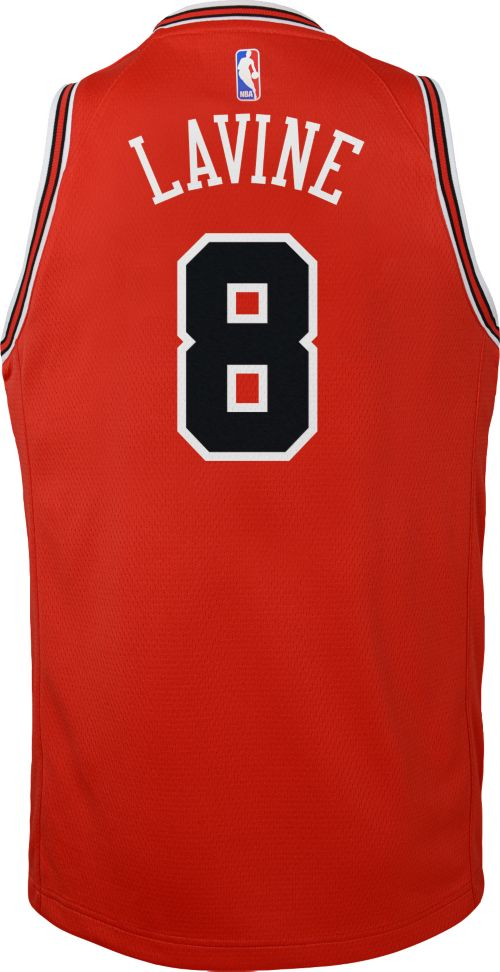 finest selection 07a04 1babc ... official nike youth chicago bulls zack lavine 8 red dri fit swingman  jersey 7a400 76d02