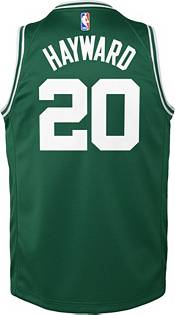 Nike Youth Boston Celtics Gordon Hayward #20 Kelly Green Dri-FIT Swingman Jersey product image