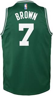 Boston Celtics #7 Jaylen Brown Statement Black Swingman Jersey