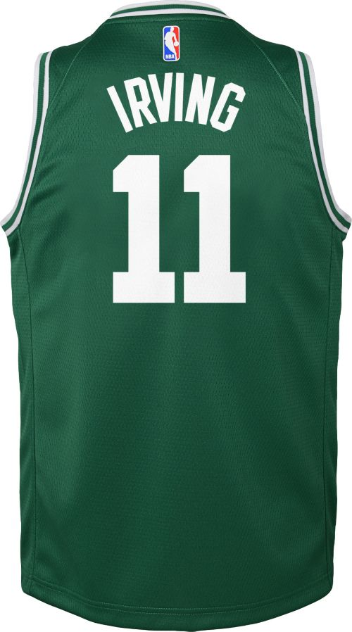 45df39bbb Nike Youth Boston Celtics Kyrie Irving  11 Kelly Green Dri-FIT Swingman  Jersey. noImageFound. Previous. 1. 2. 3