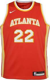 Nike Youth Atlanta Hawks Cam Reddish #22 Red Dri-FIT Swingman Jersey product image