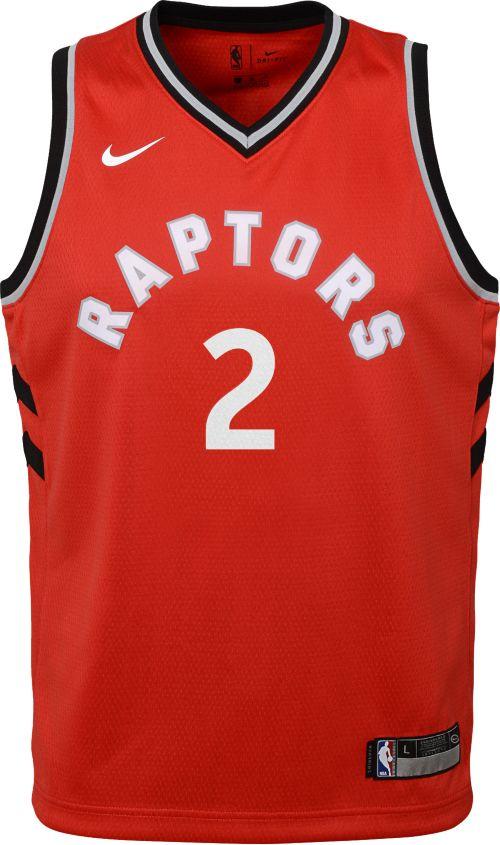 ce2e8306d Nike Youth Toronto Raptors Kawhi Leonard  2 Red Dri-FIT Swingman Jersey.  noImageFound. Previous. 1. 2