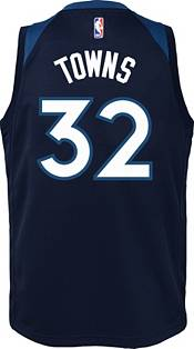 Nike Youth Minnesota Timberwolves Karl-Anthony Towns #32 Navy Dri-FIT Swingman Jersey product image