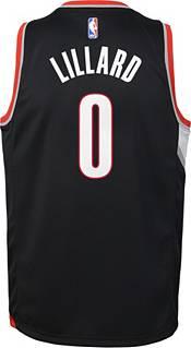 Nike Youth Portland Trail Blazers Damian Lillard #0 Black Dri-FIT Swingman Jersey product image