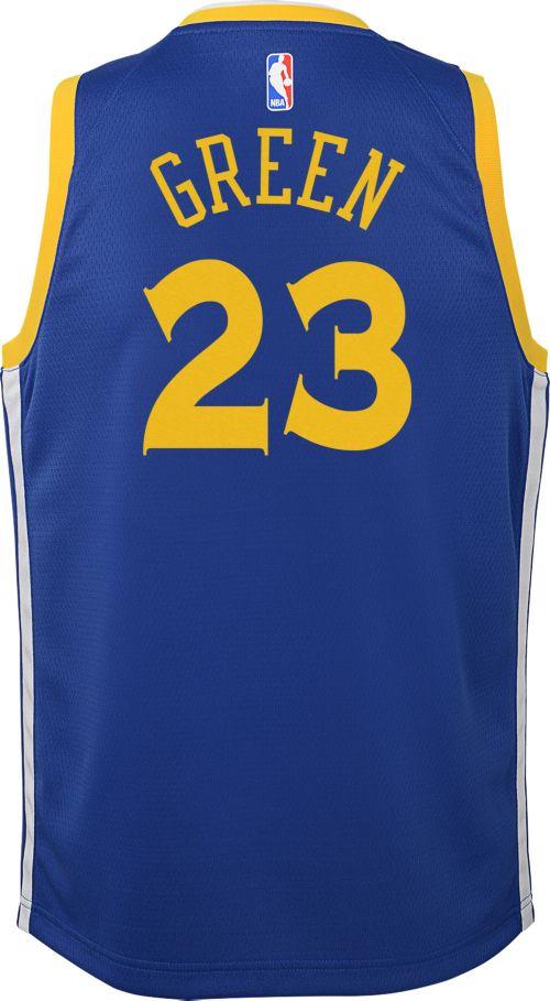 c259b1ab Nike Youth Golden State Warriors Draymond Green #23 Royal Dri-FIT ...