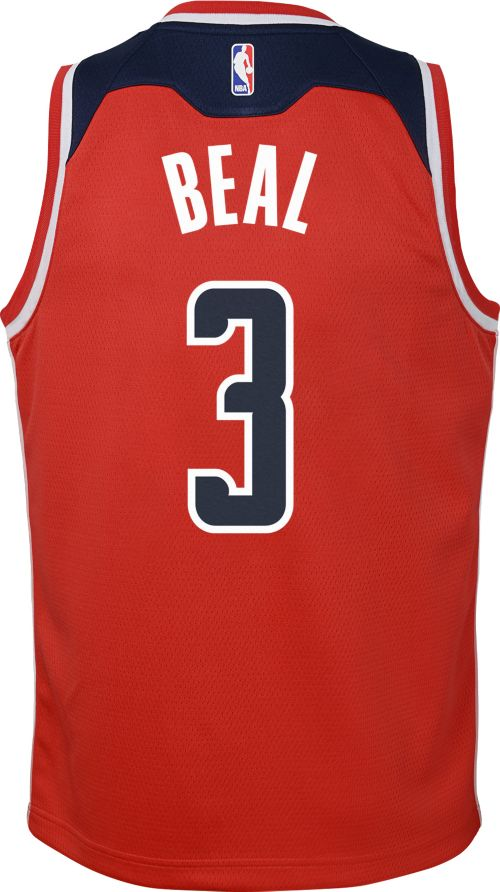 ff19efc4635c Nike Youth Washington Wizards Bradley Beal  3 Red Dri-FIT Swingman ...