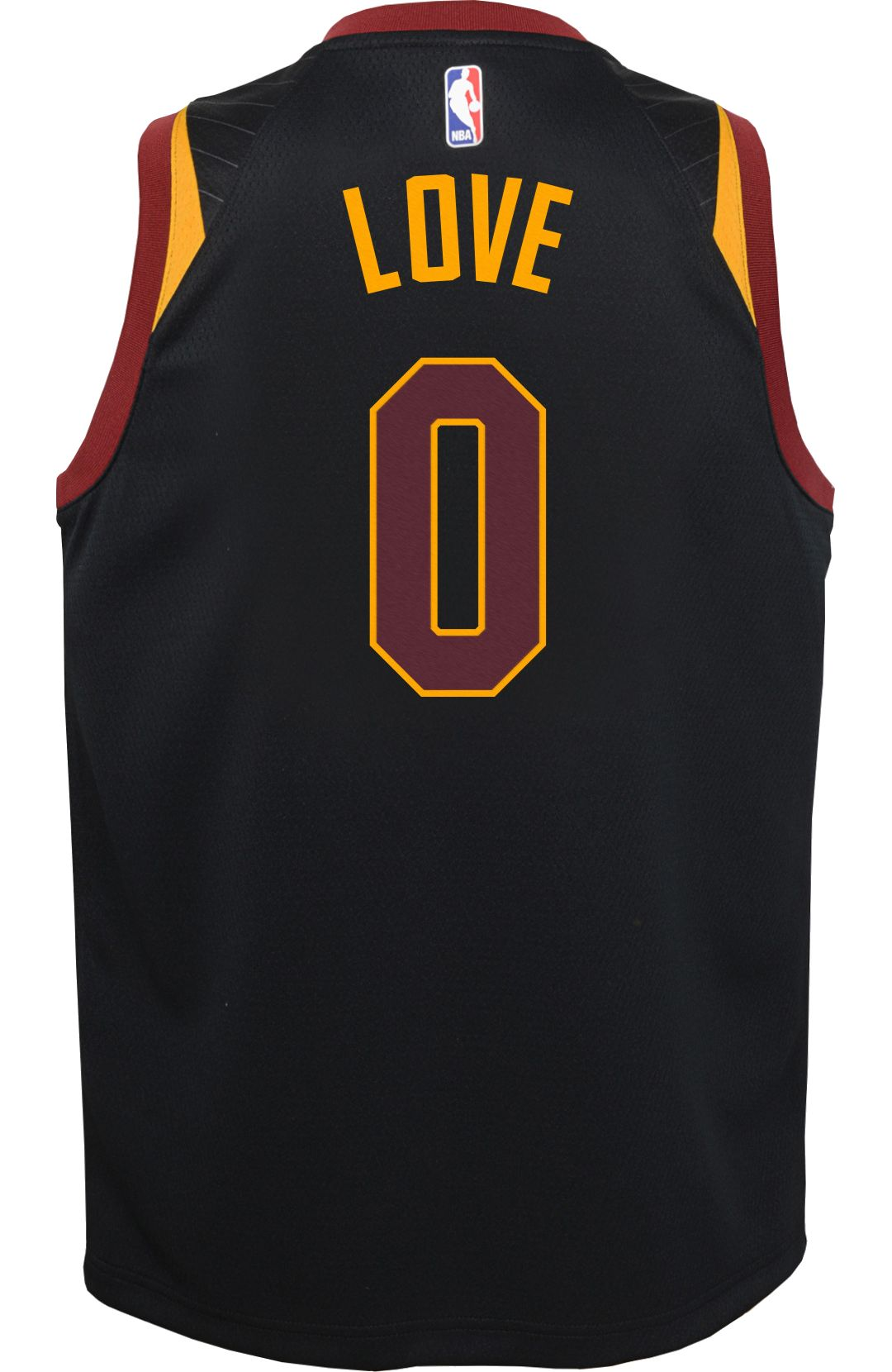 innovative design 30e68 e59a7 Nike Youth Cleveland Cavaliers Kevin Love #0 Black Dri-FIT Swingman Jersey