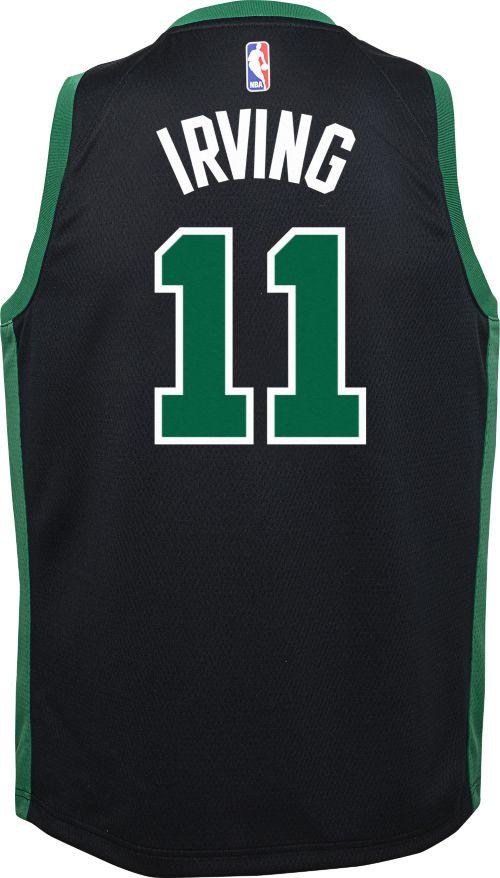 a85549952614 Nike Youth Boston Celtics Kyrie Irving  11 Black Dri-FIT Swingman Jersey.  noImageFound. Previous. 1. 2. 3
