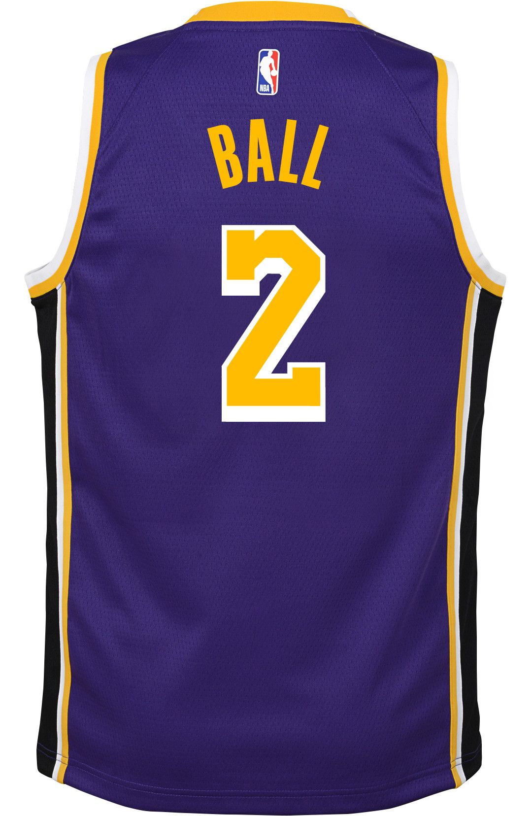 312e0477f Nike Youth Los Angeles Lakers Lonzo Ball #2 Purple Dri-FIT Swingman Jersey.  noImageFound. Previous. 1. 2. 3