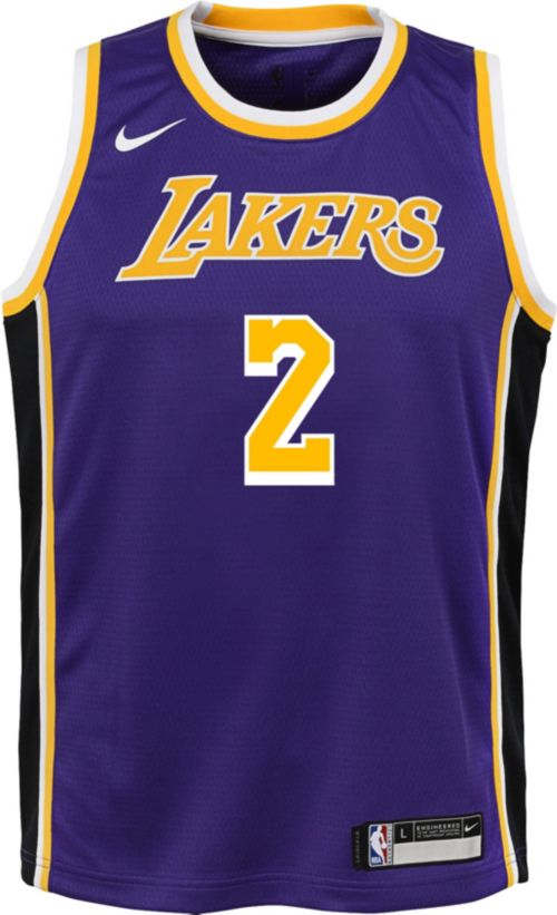 73ddff3a3 Nike Youth Los Angeles Lakers Lonzo Ball  2 Purple Dri-FIT Swingman Jersey.  noImageFound. Previous