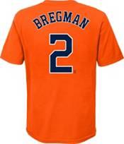 Nike Youth Houston Astros Alex Bregman #2 Orange T-Shirt product image