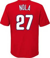 Nike Youth Philadelphia Phillies Aaron Nola #27 Red T-Shirt product image