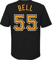 Nike Youth Pittsburgh Pirates Josh Bell #55 Black T-Shirt product image