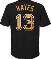 Nike Youth Pittsburgh Pirates Ke'Bryan Hayes #13 Black T-Shirt product image