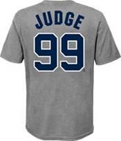 Nike Youth New York Yankees Aaron Judge #99 Gray T-Shirt product image