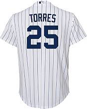 Nike Youth Replica New York Yankees Gleyber Torres #25 Cool Base White Jersey product image