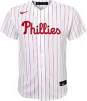 Nike Youth Replica Philadelphia Phillies Aaron Nola #27 Cool Base White Jersey product image