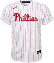 Nike Youth Replica Philadelphia Phillies Rhys Hoskins #17 Cool Base White Jersey product image