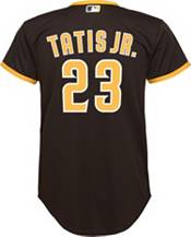 Nike Youth Replica San Diego Padres Fernando Tatis Jr. #23 Cool Base Brown Jersey product image