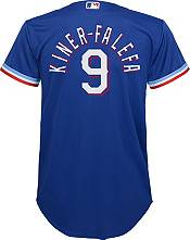 Nike Youth Replica Texas Rangers Isiah Kinder-Falefa #9 Cool Base Royal Jersey product image