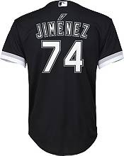Nike Youth Replica Chicago White Sox Eloy Jimenez #74 Cool Base Black Jersey product image