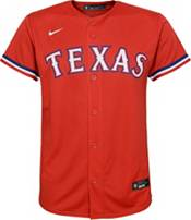Nike Youth Replica Texas Rangers Anderson Tejeda #71 Cool Base Red Jersey product image