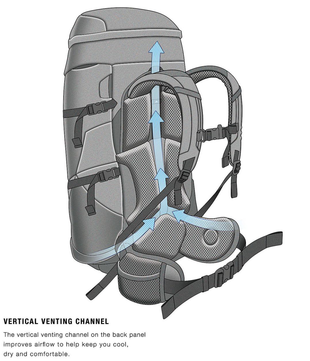 d517739b4 The North Face Terra 65L Internal Frame Pack - Prior Season