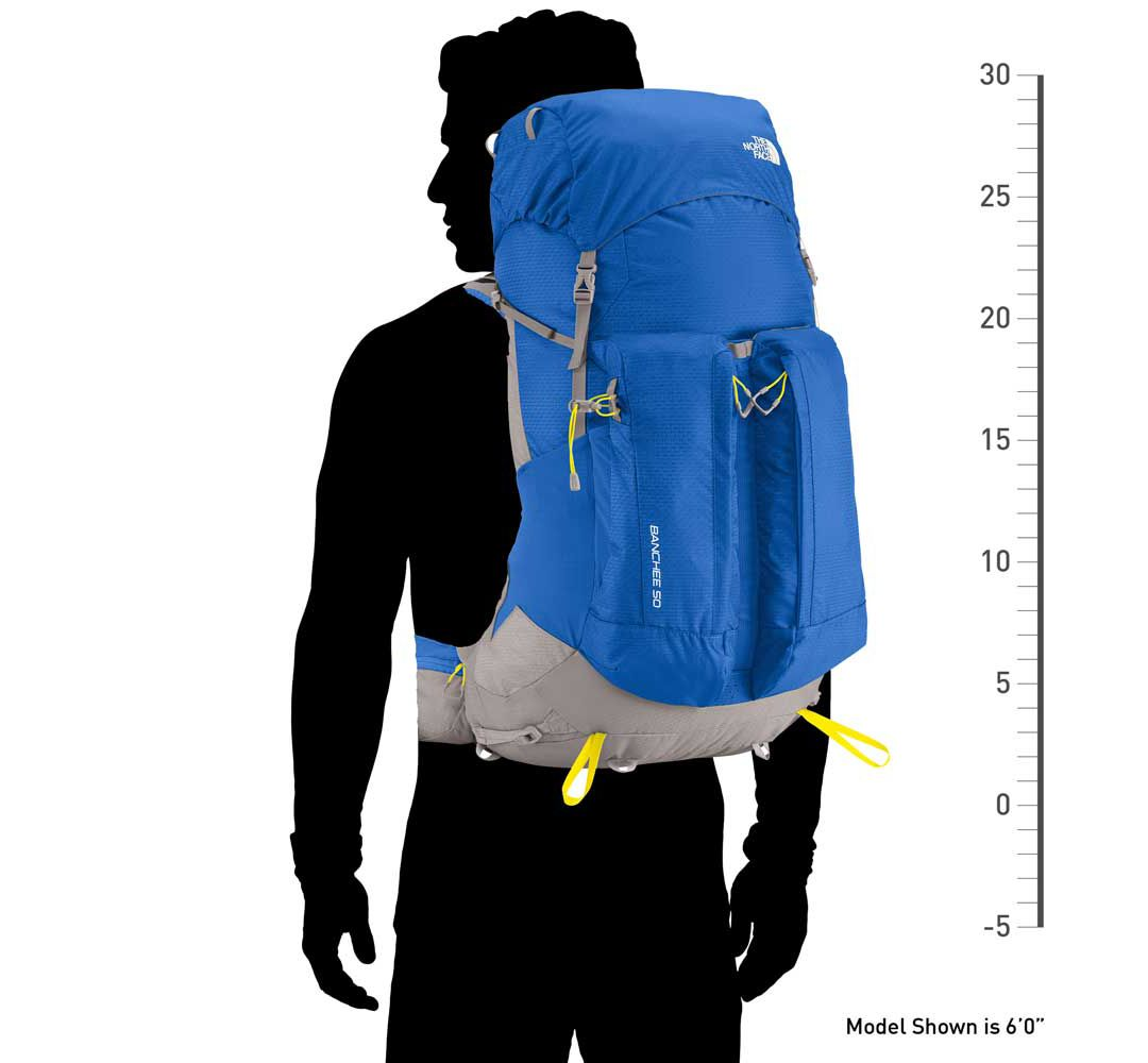 56e84a1cd The North Face Banchee 50L Internal Frame Pack