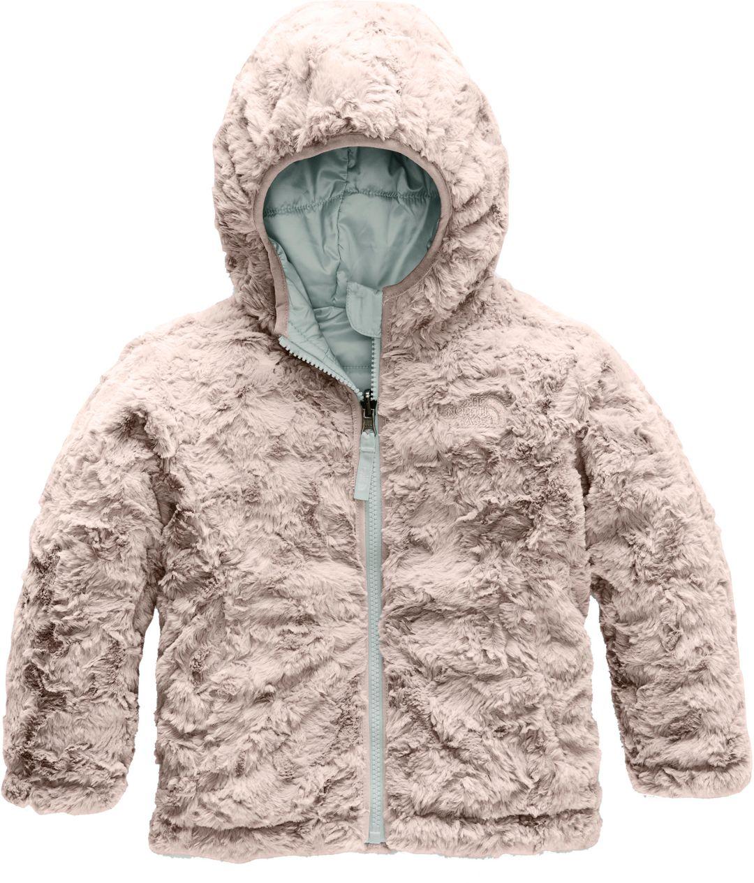 e5c593dee The North Face Toddler Girls' Reversible Mossbud Swirl Fleece Jacket
